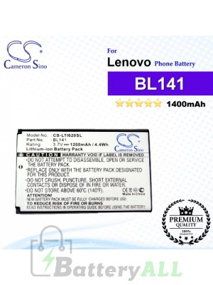 CS-LTI620SL For Lenovo Phone Battery Model BL141