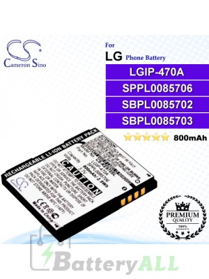 CS-KE970SL For LG Phone Battery Model LGIP-470A / SBPL0085702 / SPPL0085706