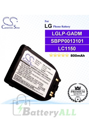 CS-LC1150SL For LG Phone Battery Model LGLP-GADM / SBPP0013101