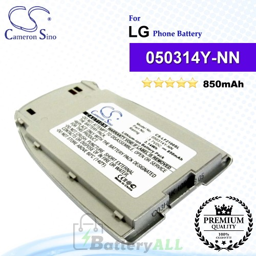 CS-LF2100SL For LG Phone Battery Model 050314Y-NN