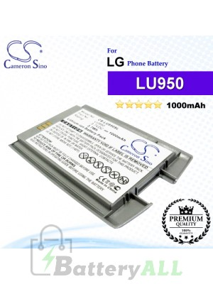 CS-LU950SL For LG Phone Battery Model LU950