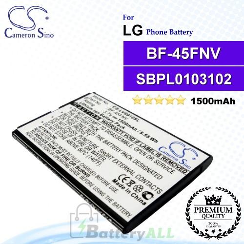 CS-LVS910SL For LG Phone Battery Model BF-45FNV / SBPL0103102