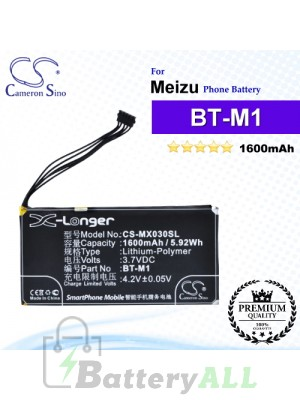 CS-MX030SL - Meizu Phone Battery Model BT-M1