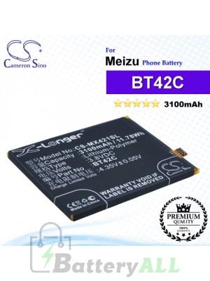 CS-MX421SL - Meizu Phone Battery Model BT42C