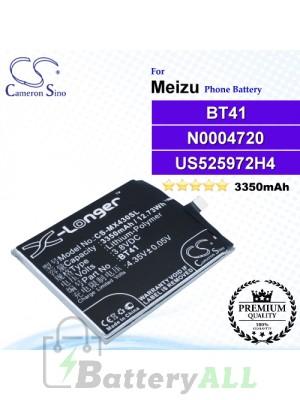 CS-MX430SL - Meizu Phone Battery Model BT41 / N0004720 / US525972H4