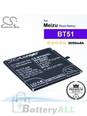 CS-MX500SL - Meizu Phone Battery Model BT51