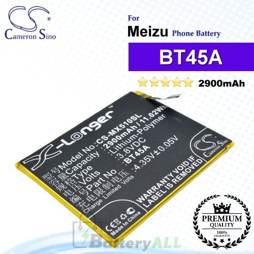 CS-MX510SL - Meizu Phone Battery Model BT45A