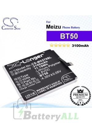 CS-MX570SL - Meizu Phone Battery Model BT50