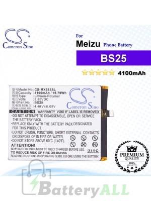 CS-MX685SL - Meizu Phone Battery Model BS25