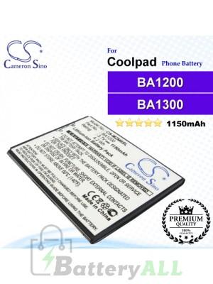 CS-MZM8SL - Meizu Phone Battery Model BA1200 / BA1300