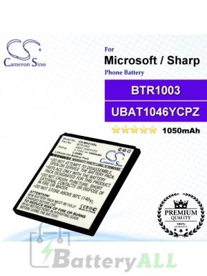 CS-MKS10SL For Microsoft Phone Battery Model BTR1003 / UBAT1046YCPZ