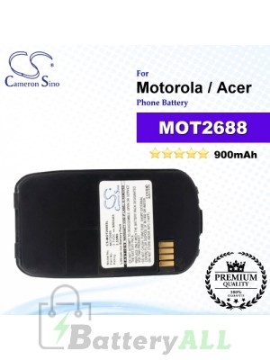 CS-MOT2688SL For Motorola Phone Battery Model MOT2688