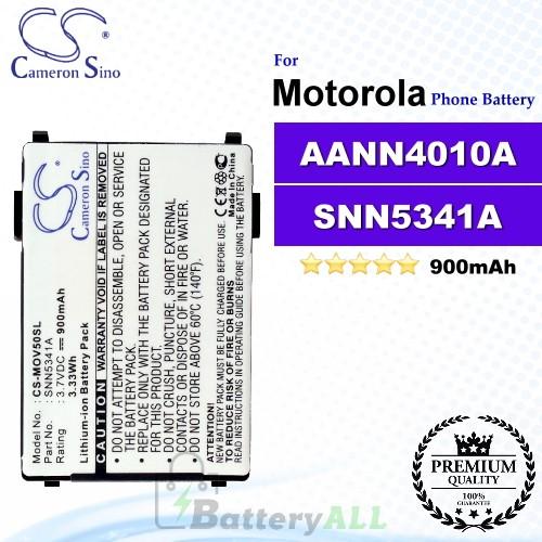 CS-MOV50SL For Motorola Phone Battery Model AANN4010A / SNN5341A