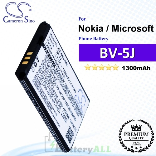 CS-NK435SL For Nokia / Microsoft Phone Battery Model BV-5J