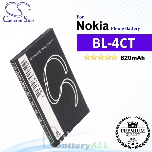 CS-NK4TSL For Nokia Phone Battery Model BL-4CT