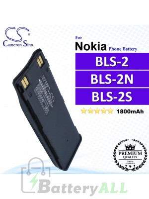 CS-NK6110SL For Nokia Phone Battery Model BLS-2 / BLS-2N / BLS-2S / BLS-2V / BLS-4 / BMS-2S / BPS-2
