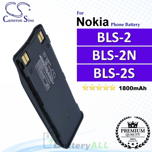 CS-NK6110SL For Nokia Phone Battery Model BLS-2 / BLS-2N / BLS-2S / BLS-2V / BLS-4 / BMS-2S / BPS-2