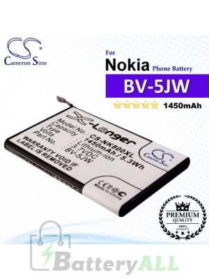 CS-NK800XL For Nokia Phone Battery Model BV-5JW