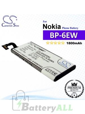 CS-NK900XL For Nokia Phone Battery Model BP-6EW