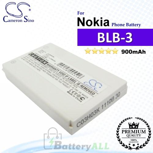 CS-NKB3SL For Nokia Phone Battery Model BLB-3