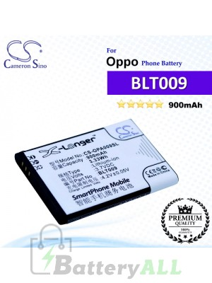 CS-OPA009SL For Oppo Phone Battery Model BLT009