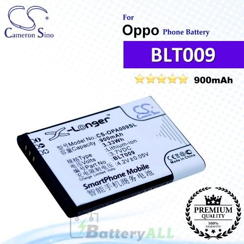CS-OPA009SL For Oppo Phone Battery Model BLT009