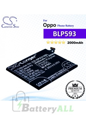CS-OPA310SL For Oppo Phone Battery Model BLP593