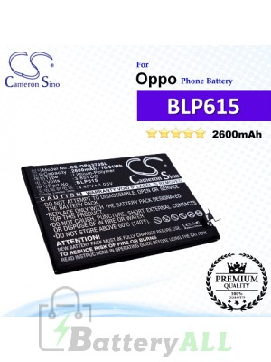 CS-OPA370SL For Oppo Phone Battery Model BLP615