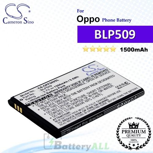 CS-OPF509SL For Oppo Phone Battery Model BLP509