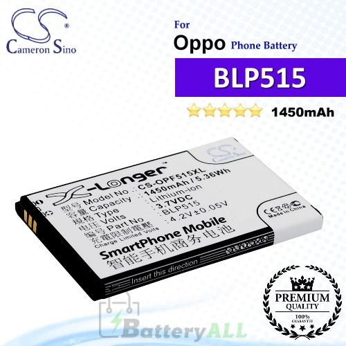 CS-OPF515XL For Oppo Phone Battery Model BLP515