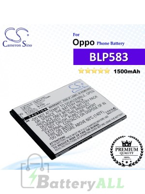 CS-OPF700SL For Oppo Phone Battery Model BLP583