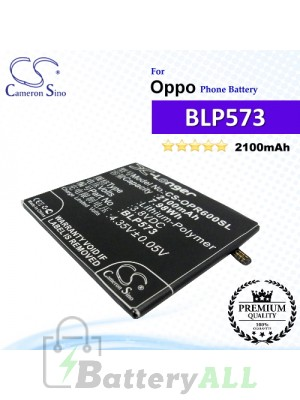 CS-OPR600SL For Oppo Phone Battery Model BLP573