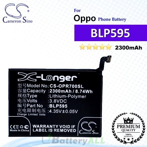 CS-OPR700SL For Oppo Phone Battery Model BLP595