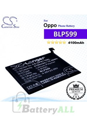 CS-OPR710SL For Oppo Phone Battery Model BLP599