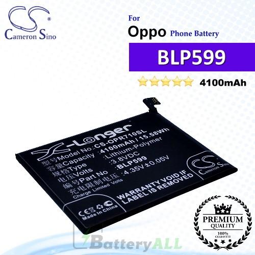 CS-OPR710SL For Oppo Phone Battery Model BLP599