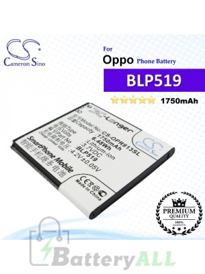 CS-OPR813SL For Oppo Phone Battery Model BLP519