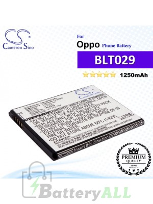 CS-OPR815SL For Oppo Phone Battery Model BLT029