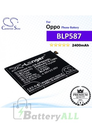 CS-OPR820SL For Oppo Phone Battery Model BLP587