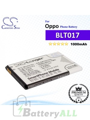 CS-OPT017SL For Oppo Phone Battery Model BLT017