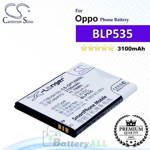CS-OPT290SL For Oppo Phone Battery Model BLP535