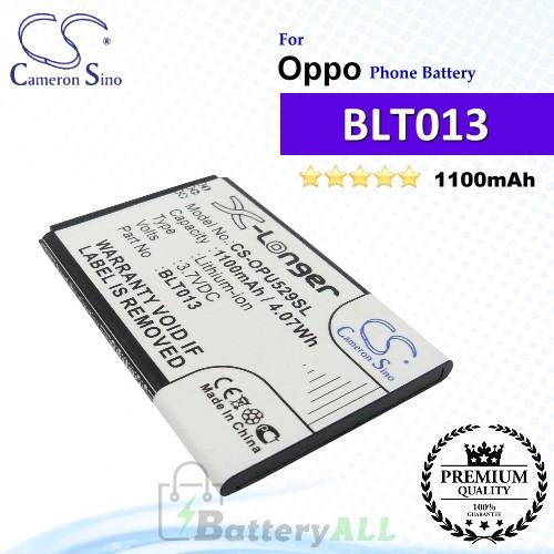 CS-OPU529SL For Oppo Phone Battery Model BLT013