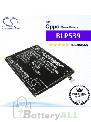 CS-OPX909SL For Oppo Phone Battery Model BLP539