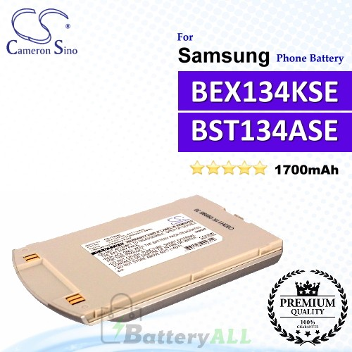 CS-I700SL For Samsung Phone Battery Model BEX134KSE / BST134ASE