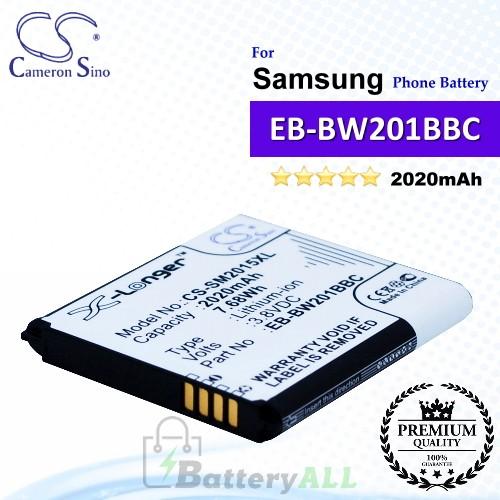 CS-SM2015XL For Samsung Phone Battery Model EB-BW201BBC