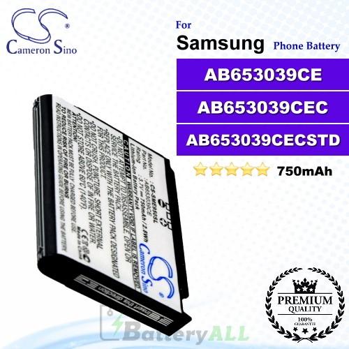 CS-SME950SL For Samsung Phone Battery Model AB653039CE / AB653039CEC / AB653039CECSTD