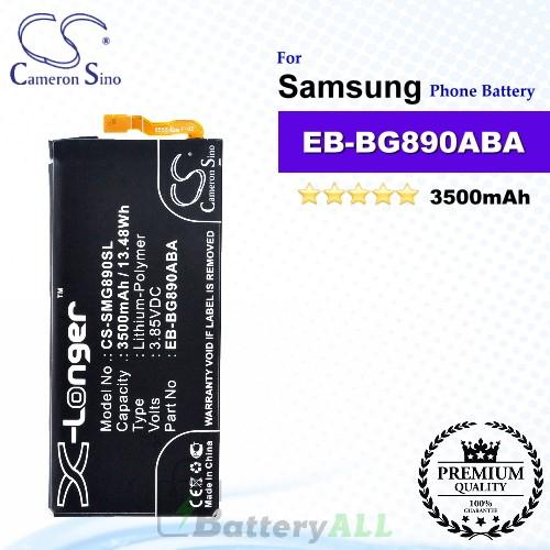 CS-SMG890SL For Samsung Phone Battery Model EB-BG890ABA