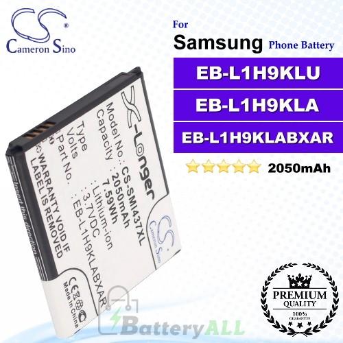 CS-SMI437XL For Samsung Phone Battery Model EB-L1H9KLU / EB-L1H9KLA / EB-L1H9KLABXAR