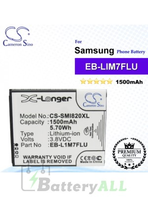 CS-SMI820XL For Samsung Phone Battery Model EB-F1M7LU / EB-L1M7FLU