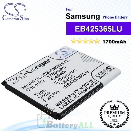CS-SMI829XL For Samsung Phone Battery Model EB425365LU
