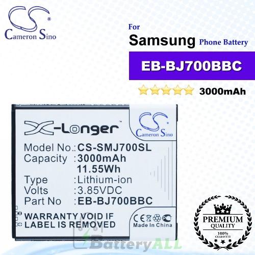 CS-SMJ700SL For Samsung Phone Battery Model EB-BJ700BBC / EB-BJ700CBE